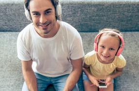 Diseña una canción para dedicar a papá