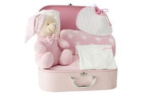 Maletín de diseño exclusivo con ropa y detalles para bebés