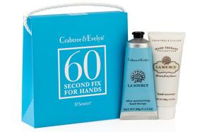 Kit para cuidar tus manos en 60 segundos de Crabtree&Evelyn