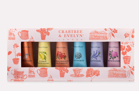 Estuche de 6 cremas de manos Crabtree & Evelyn