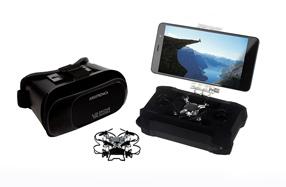 Microdrone Smartview VR con gafas de realidad virtual