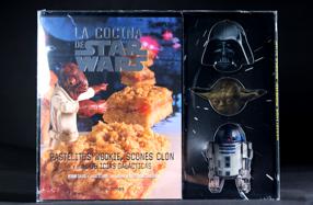 La cocina de Star Wars con moldes