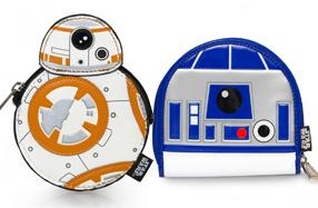 Monederos para fans de Star Wars
