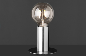 Lámpara de estilo industrial con forma de bombilla