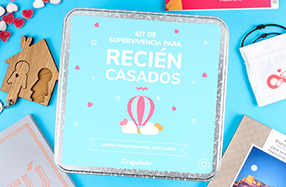 Kits de supervivencia para recién casados