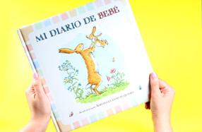 """""""Mi diario de bebé"""": basado en el clásico """"Adivina cuánto te quiero"""""""
