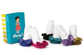 Los calcetines para bebés de las celebrities
