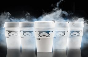 Vaso ecológico para café Stormtrooper de Star Wars