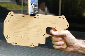 AR Gun la pistola para juegos con Smartphone