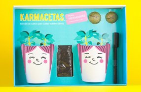Karmacetas: kit de cultivo para cuidar vuestro karma