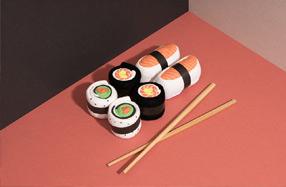 Estuche de calcetines para sushi lovers