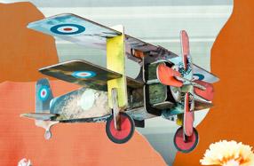 Aviones 3D para montar y decorar