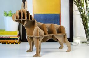 Mini Perro de Cartón Bulldog Francés