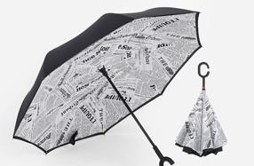 """""""Magicbrella"""": el paraguas que se abre del revés"""