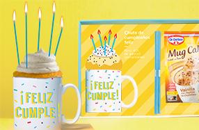 Kit tarta de cumpleaños de emergencia