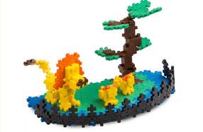Plus-Plus: el puzzle mini para grandes construcciones