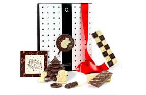 Pack de chocolate para felicitar la navidad
