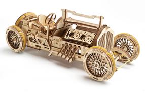 Coche U9 Grand Prix para construir en madera