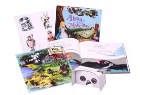 Alicia en el País de las Maravillas con Realidad Virtual