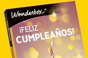 """Experiencia """"Feliz cumpleaños"""" Wonderbox"""