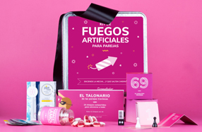 Kit de fuegos artificiales para parejas