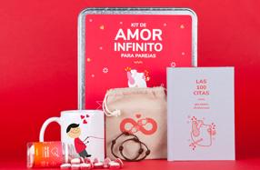 Kit de amor infinito para parejas
