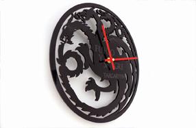 Relojes de pared para fans de Juego de Tronos