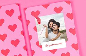 Libretas personalizables para parejas
