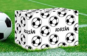 Papel de regalo personalizado modelo fútbol