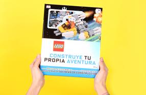 """Libro con bloques """"LEGO Star Wars. Construye tu propia aventura"""""""