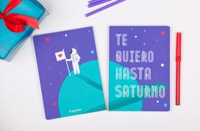 """Libretas para dos: """"Te quiero hasta Saturno"""""""