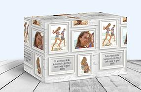 Papel de regalo personalizado modelo marcos de pared