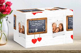 Papel de regalo personalizado modelo pizarra