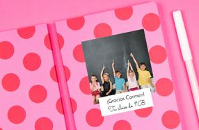 Libretas personalizables para profesores
