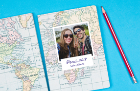 Libreta personalizable para viajeros