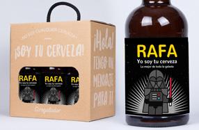 Cervezas personalizadas para frikis