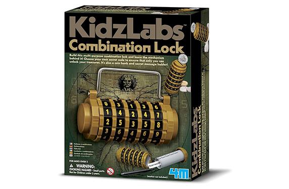 Kit para construir tu candado con combinación