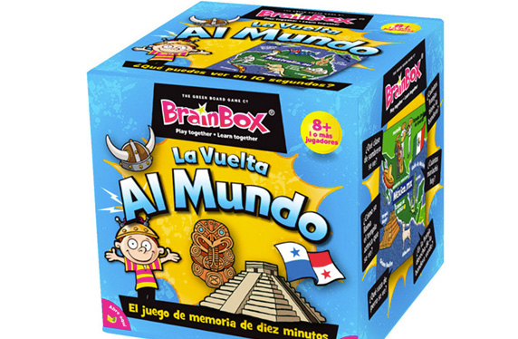 Brainbox, juego de memoria: Vuelta al mundo