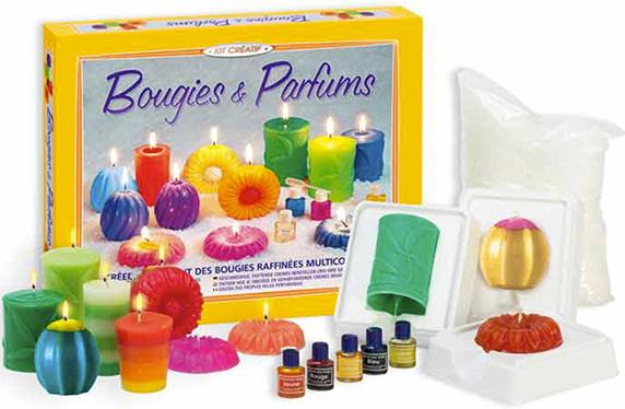 Kit para crear velas y perfumes
