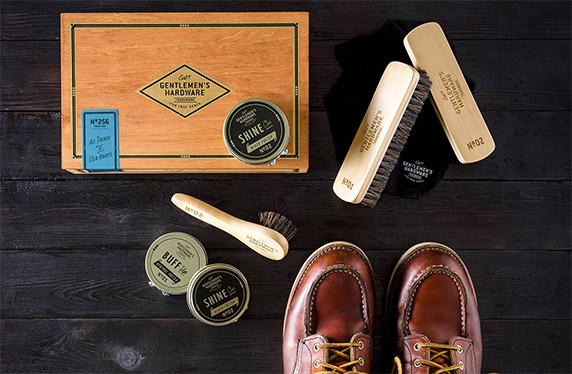 Estuche de diseño para el cuidado de zapatos
