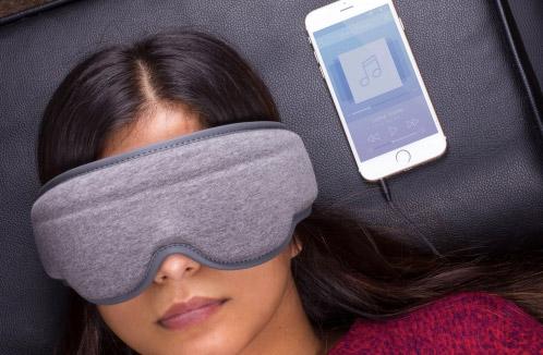 Máscara de dormir con música