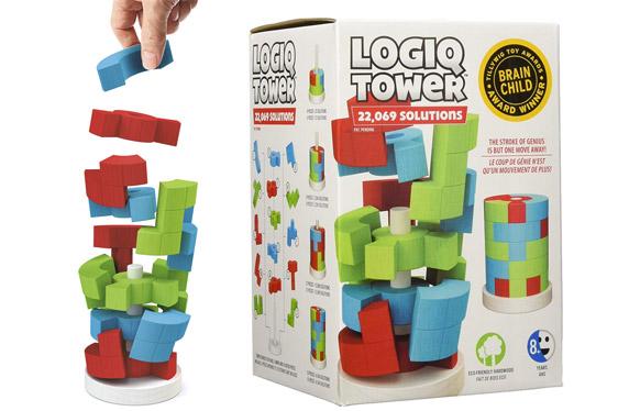 Logiq Tower, el juguete que nunca te aburrirá