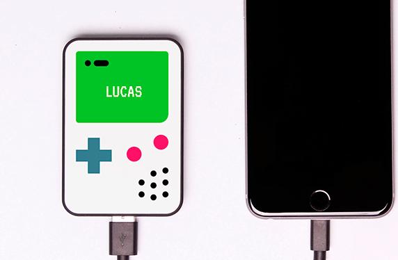 Batería portátil personalizada para gamers