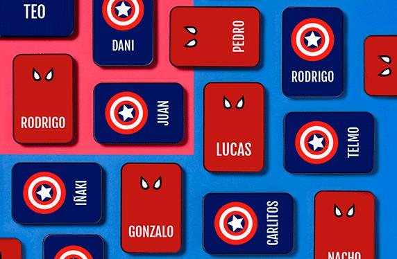 Batería portátil personalizada para fans de los comics