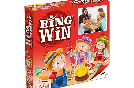 Ring Win, el juego de cartas de agilidad y destreza