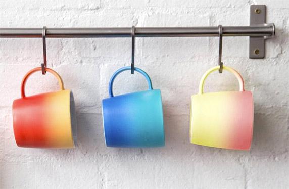 Set de 3 tazas Ombré, ¿qué color eliges hoy?