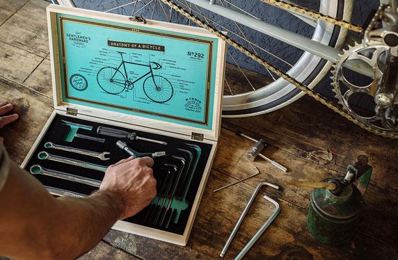 Kit de herramientas para la bici