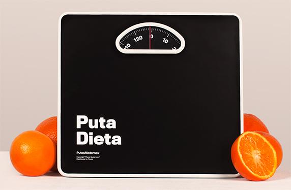 """La báscula de la """"puta dieta"""""""