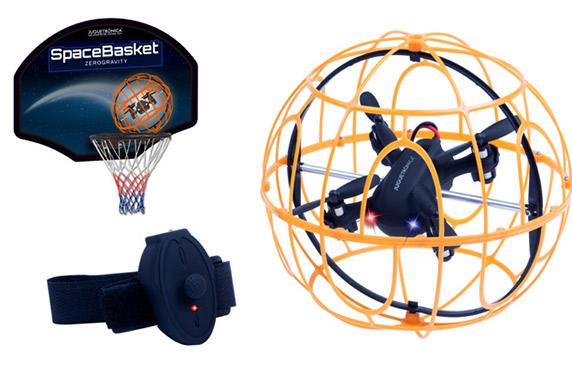 SpaceBasket: la pelota es un dron