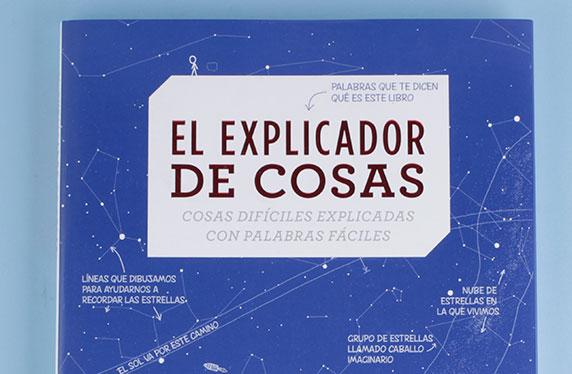 """Libro """"El explicador de cosas"""""""
